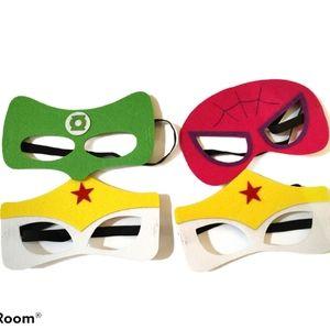 Superhero Face Masks Costumes
